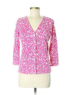 Jillian Jones Silk Cardigan Size M