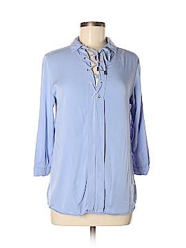 Blush 3/4 Sleeve Blouse Size M
