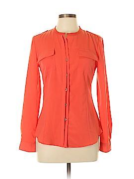 Calvin Klein Long Sleeve Blouse Size S (Petite)