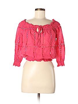 INC International Concepts Long Sleeve Blouse Size 8 (Petite)