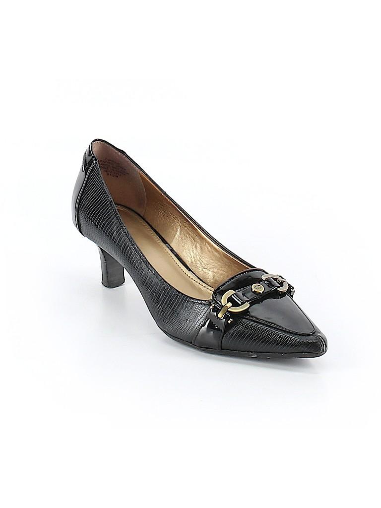 efcf22dbcf03 Circa Joan   David Animal Print Black Heels Size 9 1 2 - 63% off ...