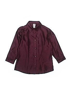 Talbots Kids Long Sleeve Blouse Size 16