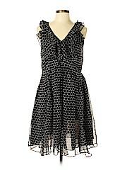 Blue Tassel Women Casual Dress Size M