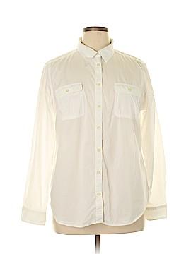 St. John's Bay Long Sleeve Button-Down Shirt Size XL