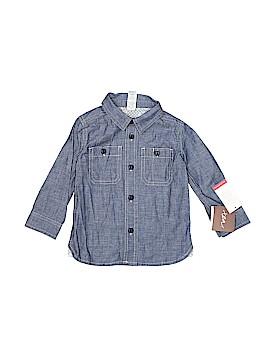 Tea Collection Long Sleeve Button-Down Shirt Size 12-18 mo
