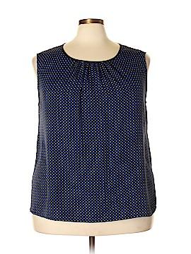 Jones New York Collection Sleeveless Blouse Size 22W (Plus)