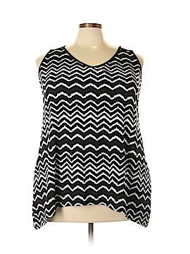 Lavish Sleeveless Top Size 3X (Plus)