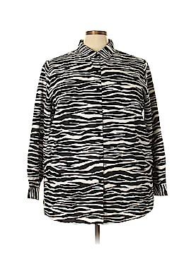 National Ltd. Long Sleeve Blouse Size 24 (Plus)