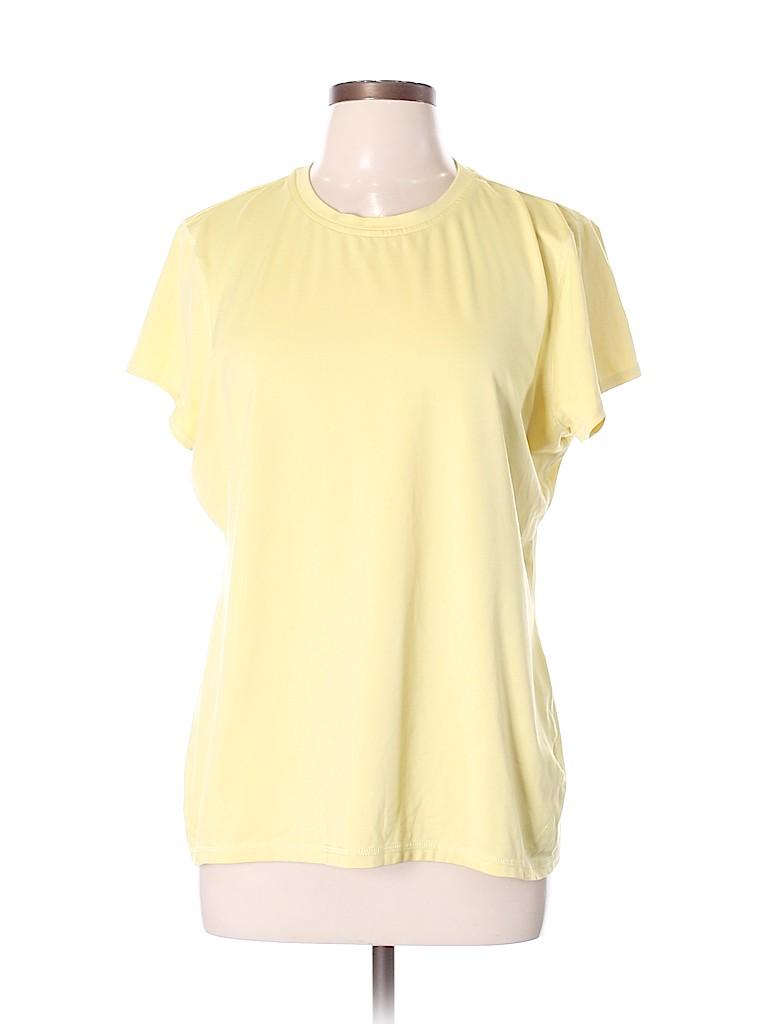 Lands' End Women Active T-Shirt Size XL