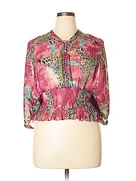 Vixen 3/4 Sleeve Blouse Size L