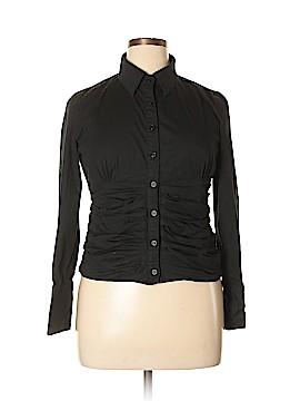 Kenar Long Sleeve Button-Down Shirt Size 14