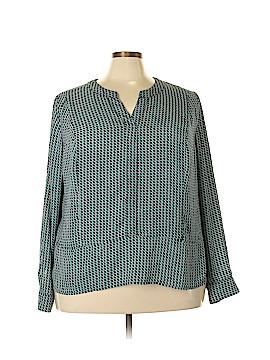 Worthington Long Sleeve Blouse Size 3X (Plus)