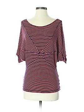 Bordeaux Short Sleeve Top Size S