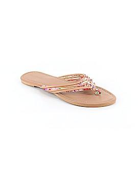Olivia Miller Flip Flops Size 10