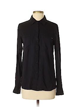 RVCA Long Sleeve Button-Down Shirt Size S