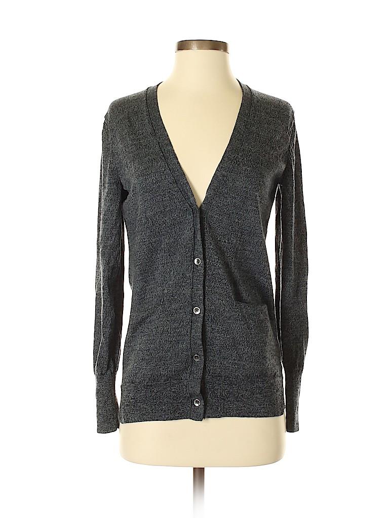 74c40e26d6c440 Gap 100% Merino Wool Solid Gray Wool Cardigan Size S - 74% off   thredUP