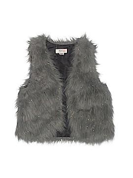 Route 66 Faux Fur Vest Size 10 - 12