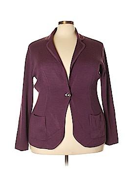 WD.NY Blazer Size 2X (Plus)