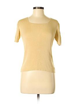 Clio Short Sleeve Silk Top Size S