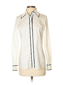 Dana Buchman Long Sleeve Button-Down Shirt Size 4