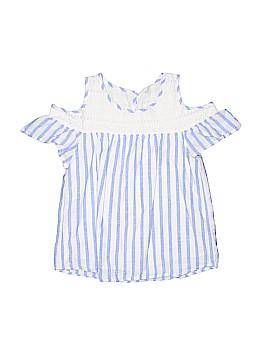 Cat & Jack Short Sleeve Blouse Size 7 - 8
