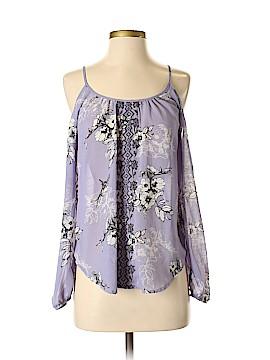 Rewind Long Sleeve Button-Down Shirt Size XS