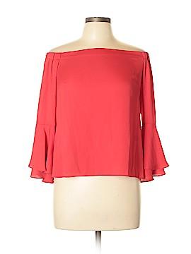 Amanda Uprichard Long Sleeve Blouse Size M