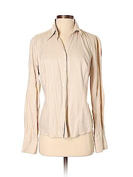 Ann Taylor LOFT Long Sleeve Button-Down Shirt Size 8