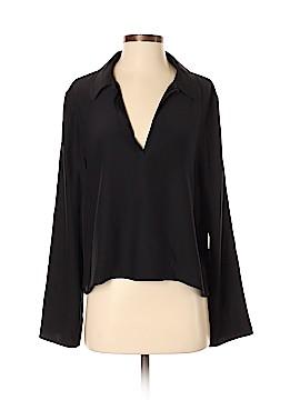 Jenni Kayne Long Sleeve Silk Top Size M