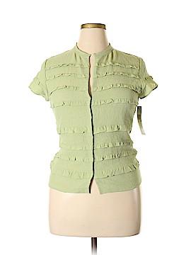 DKNY Silk Cardigan Size 14
