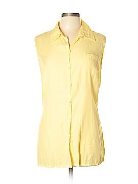 Carolina Colours Short Sleeve Button-Down Shirt Size XL