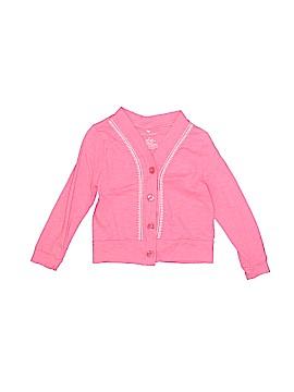 Pink Chicken Cardigan Size 2