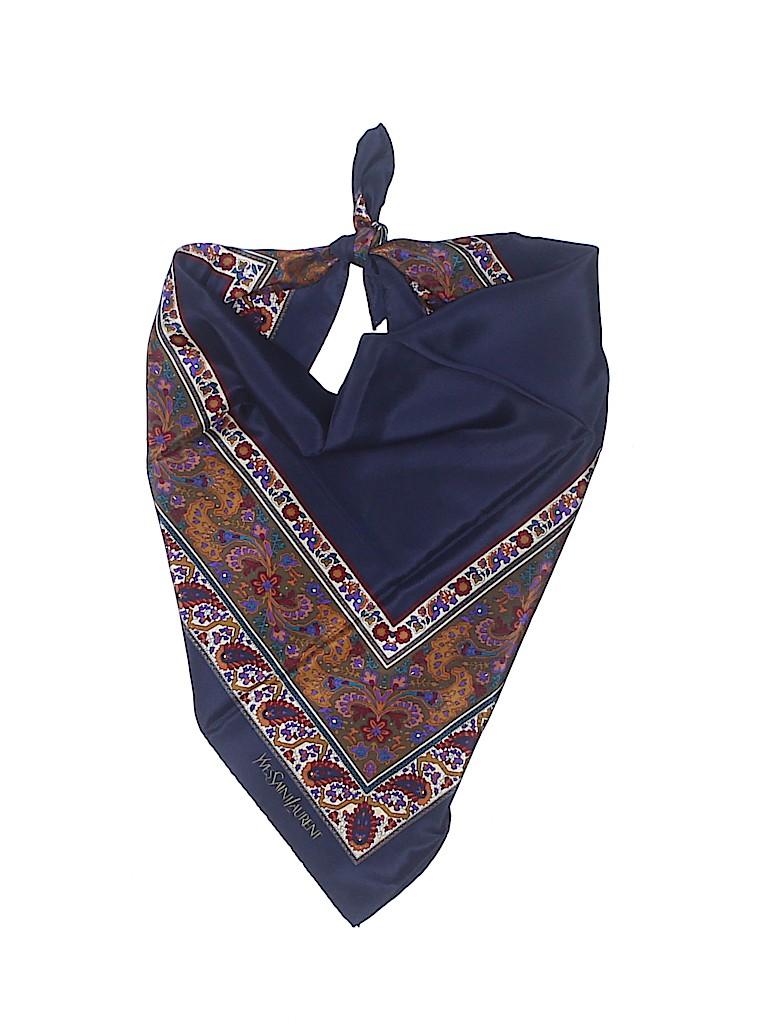Yves Saint Laurent Women Silk Scarf One Size