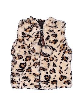 American Widgeon Faux Fur Vest Size 2T
