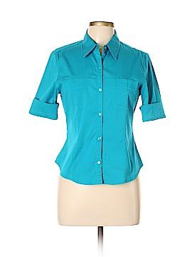Express Short Sleeve Button-Down Shirt Size 9