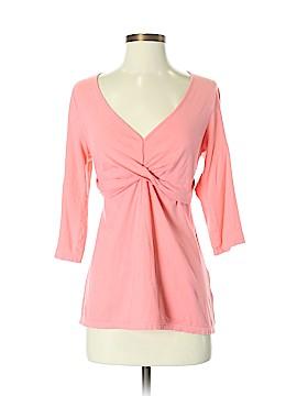 Garnet Hill 3/4 Sleeve Top Size S