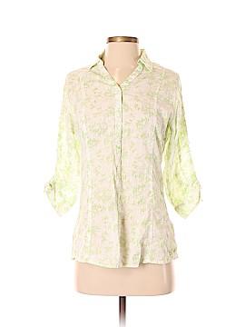 Woolrich 3/4 Sleeve Button-Down Shirt Size S
