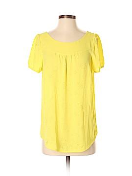 Vanessa Virginia Short Sleeve Blouse Size 8