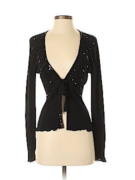 Donna Ricco Silk Cardigan Size M
