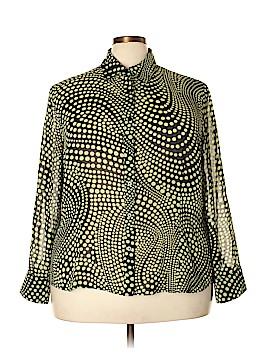 A Line Long Sleeve Blouse Size 20 (Plus)