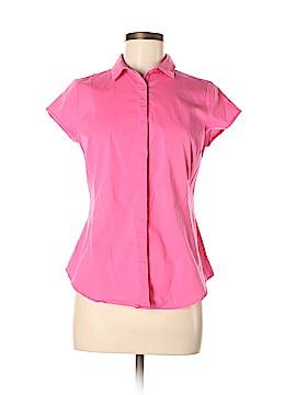 Worthington Short Sleeve Button-Down Shirt Size M (Petite)