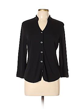 Josephine Chaus Long Sleeve Button-Down Shirt Size L