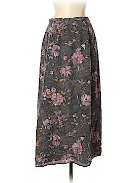 Casual Corner Silk Skirt Size 8