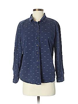 Kling Long Sleeve Button-Down Shirt Size S