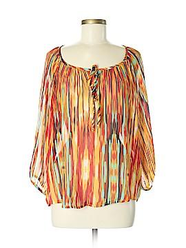 Cha Cha Vente 3/4 Sleeve Blouse Size M