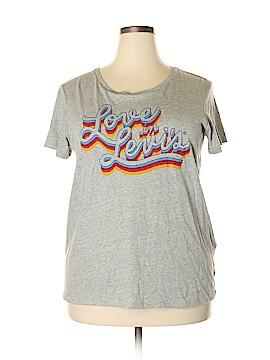 Levi's Short Sleeve T-Shirt Size 1X (Plus)