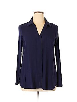 Pleione Long Sleeve Blouse Size XL