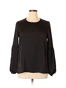 Bobeau Long Sleeve Blouse Size XL