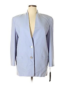 Linda Allard Ellen Tracy Wool Blazer Size 14
