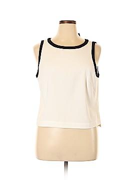 White House Black Market Sleeveless Blouse Size XL